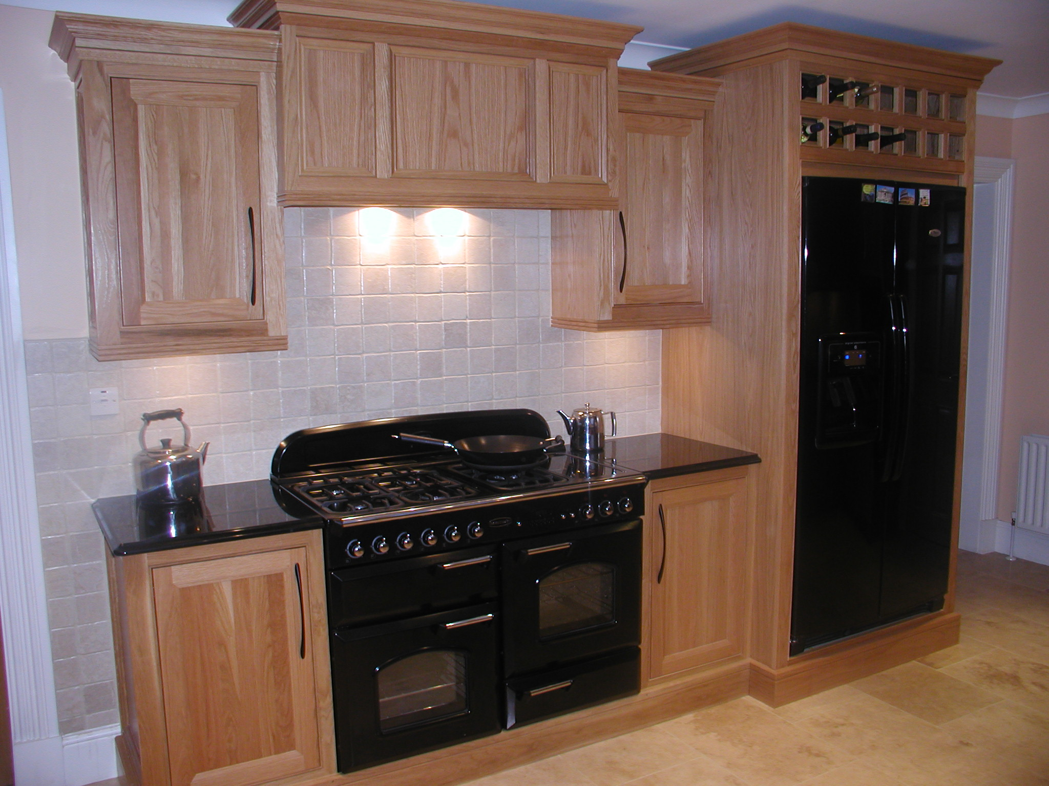 Thought forms ireland white oak for White oak cabinets kitchen